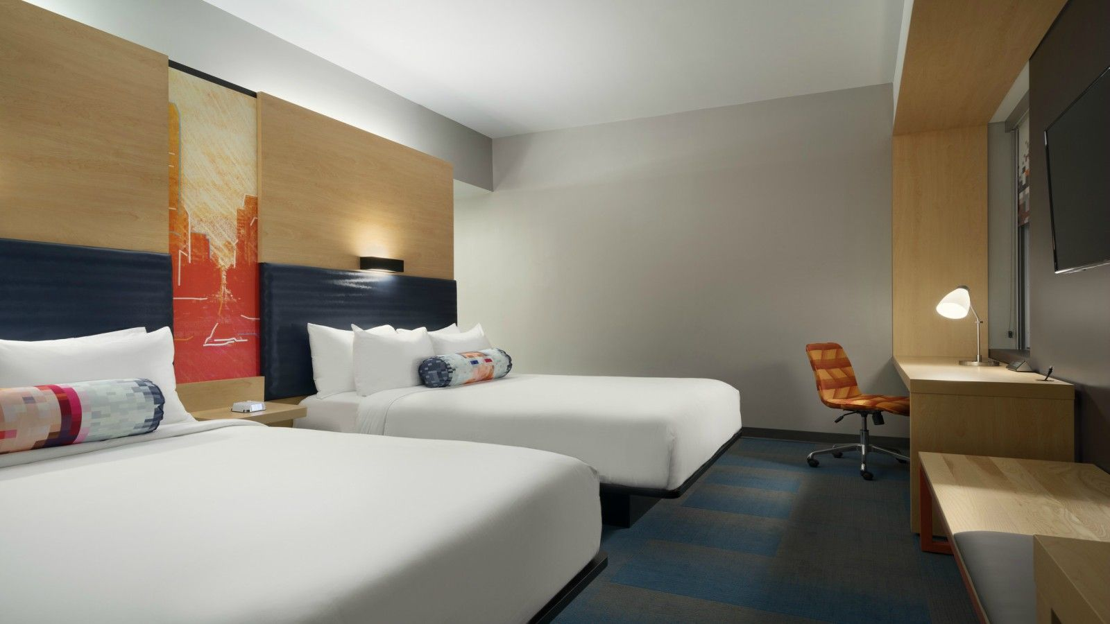 Aloft Double Queen Room
